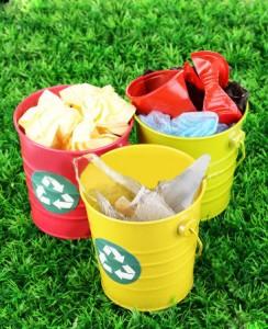 A diferença entre lixo seco e lixo orgânico
