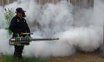 maquina de fumaça fumacê contra dengue e febre chikungunya